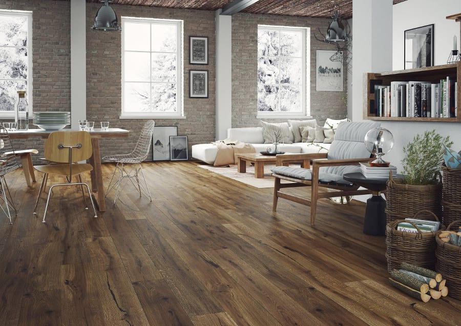 Styl Rustykalny Wnętrza Pachnące Drewnem Barlinek