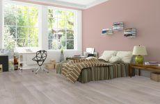 szaro-różowa-sypialnia
